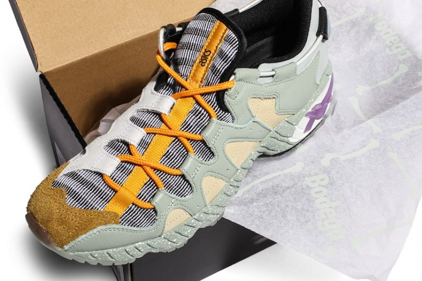 """official photos 27b1d c121a Bodega x ASICS Tiger GEL-MAI """"Underground"""" is Coming to ..."""