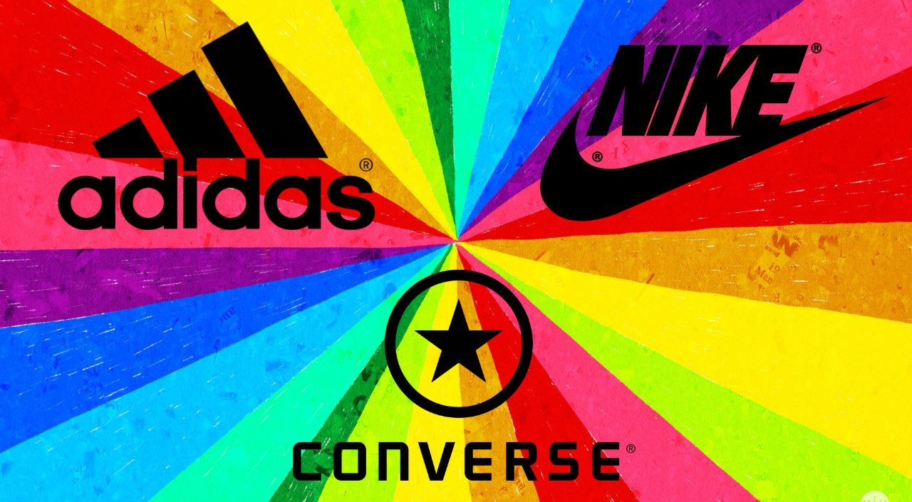 adidas nike converse