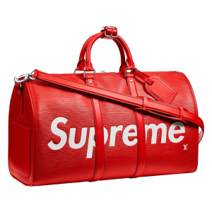 StockX is giving away a free Supreme x Louis Vuitton Keepall Bag.