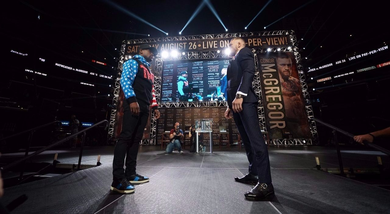 Highlights From The Mayweather VS McGregor Press Conference