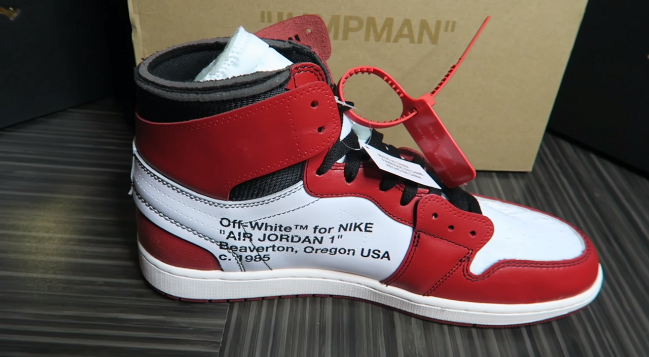 Off-White x Air Jordan 1 is scheduled to drop tomorrow