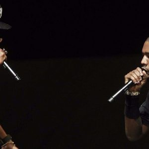 the conflict history between Jay-Z and Kanye West