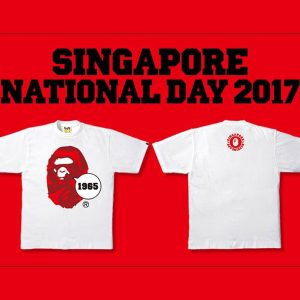 BAPE Singapore National Day Collection