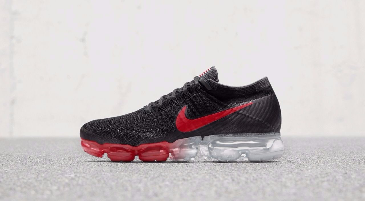 The Nike Air VaporMax has some New Design Options