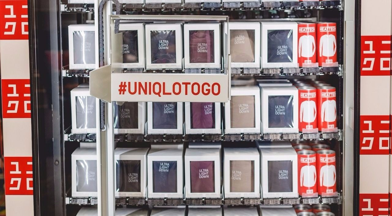 Uniqlo Vending Machines