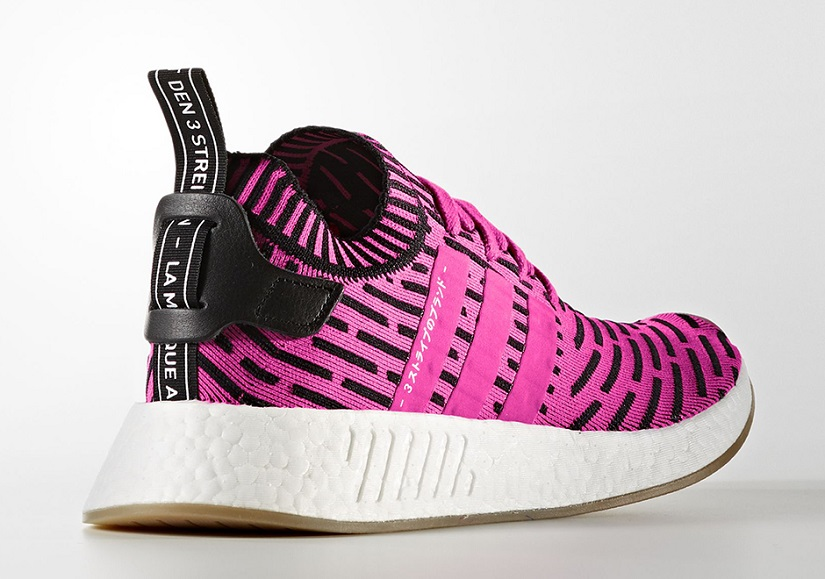 dd868f2f5f507b Adidas NMD R2 Japan Pack Comes in Black and Pink Primeknit this ...