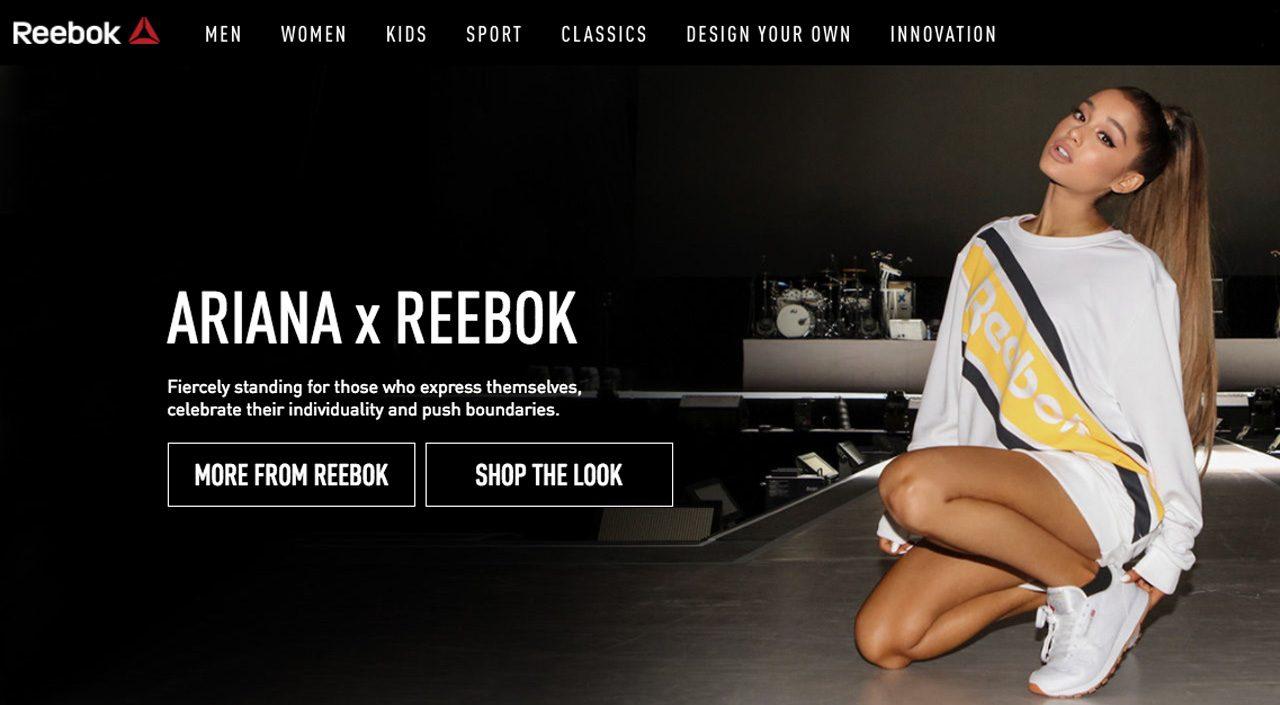 a bajo precio barata hacer un pedido auténtico Reebok Ariana Grande Partnership Announced September 13 ...