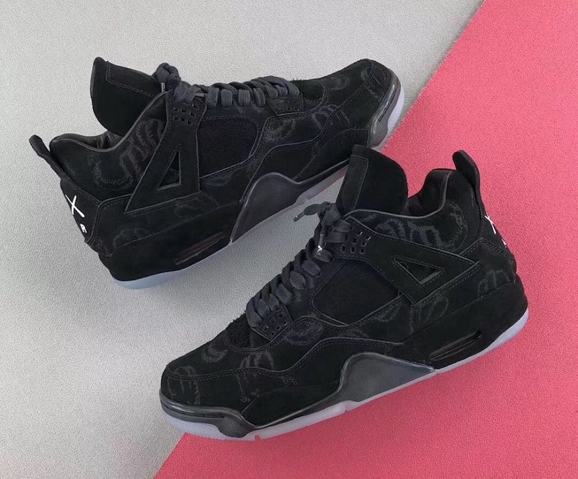 hot sale online 626ff ac3b1 The KAWS x Air Jordan 4 Black Might Get a Public Release in ...