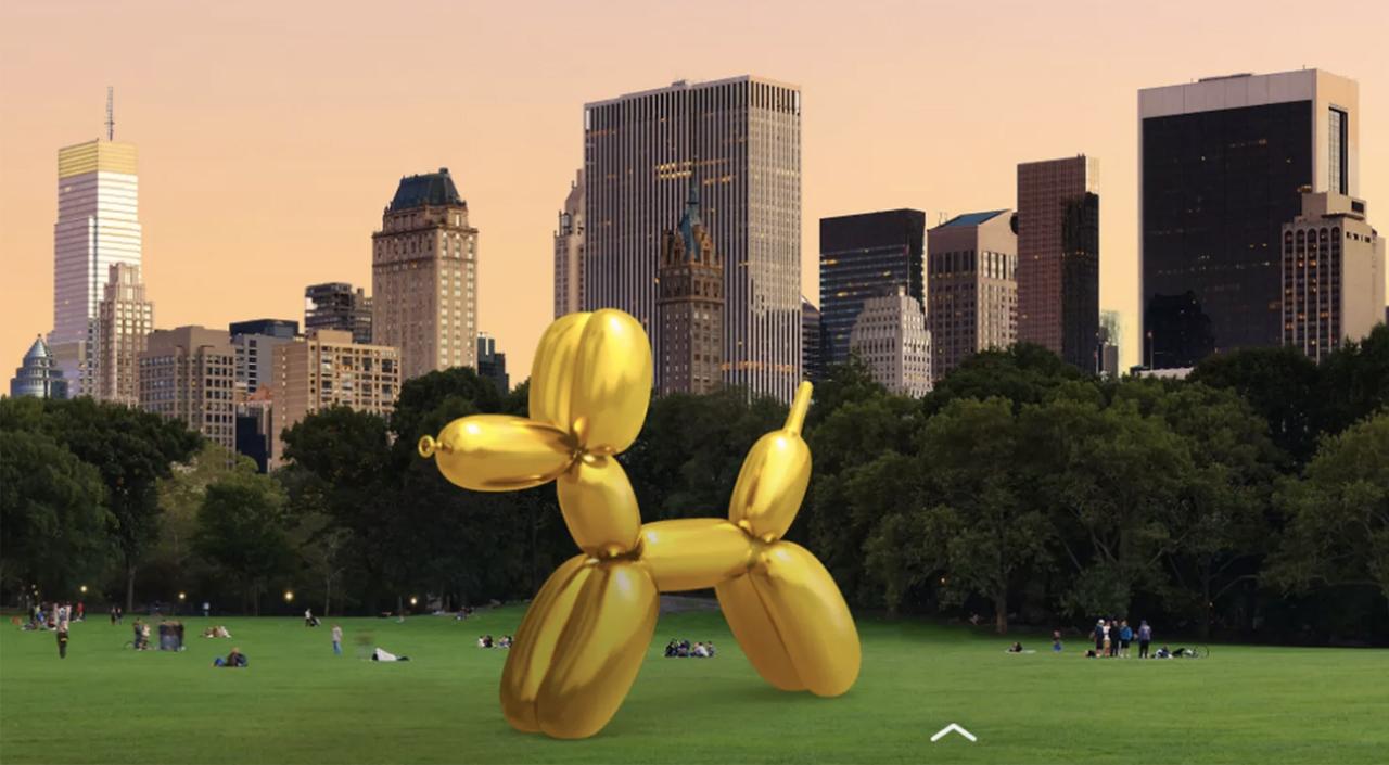 snapchat-jeff-koons-installation