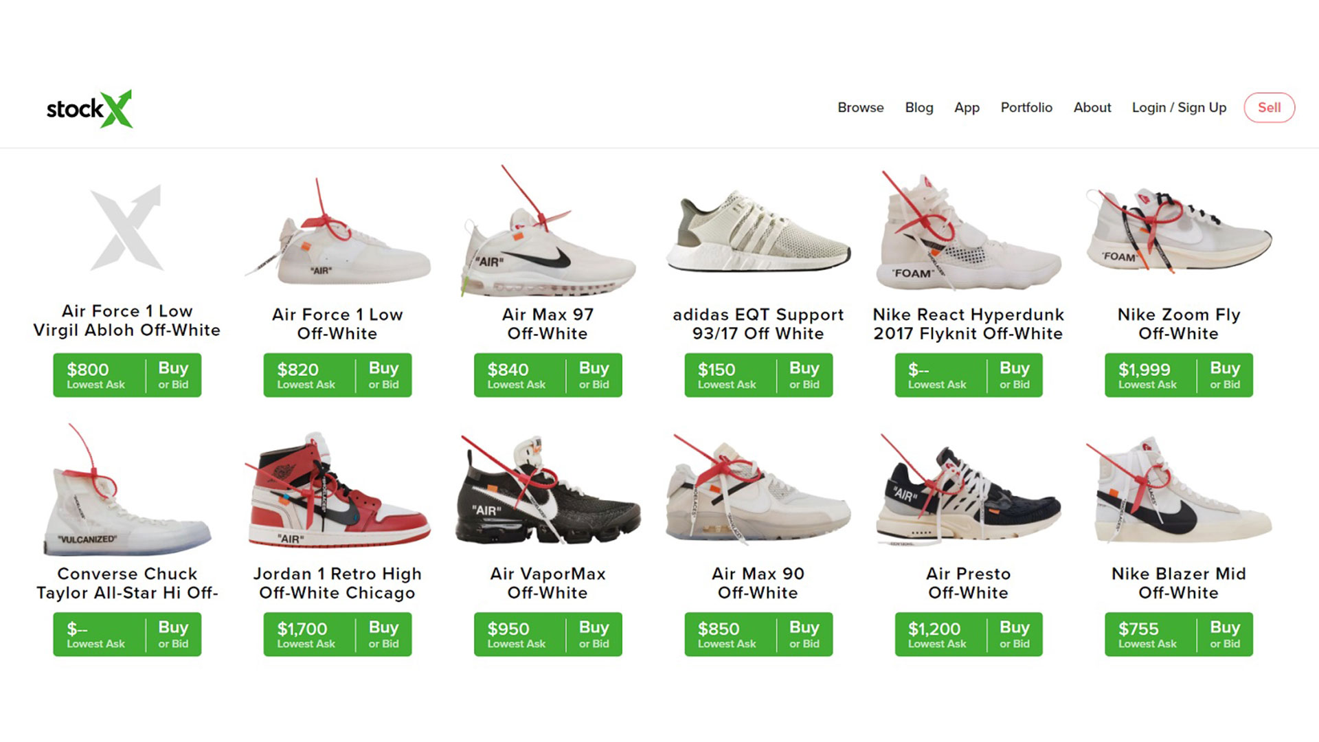 61602410320650 Where to Buy Off-White x Nike Sneakers  5 More Sources