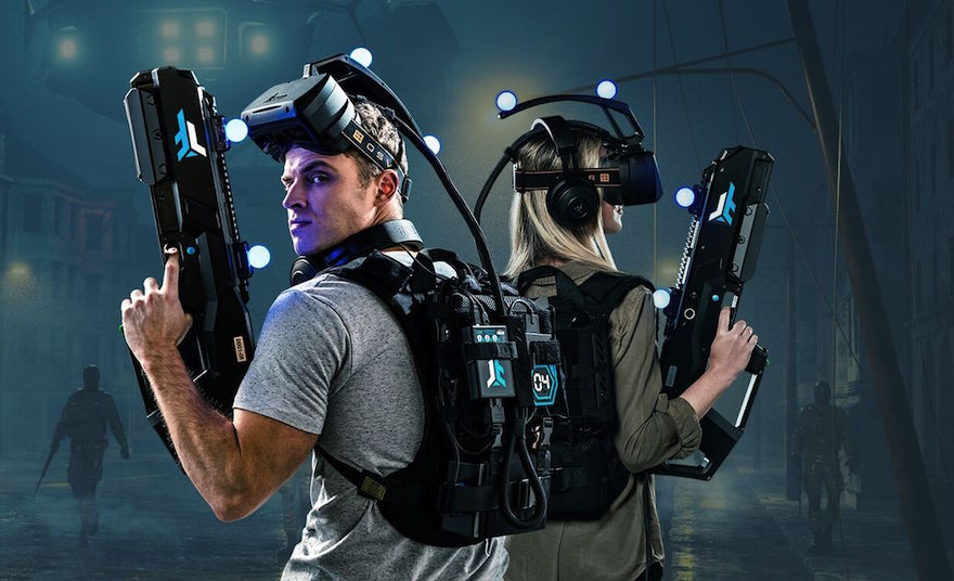 State Of The Art VR gaming equipments