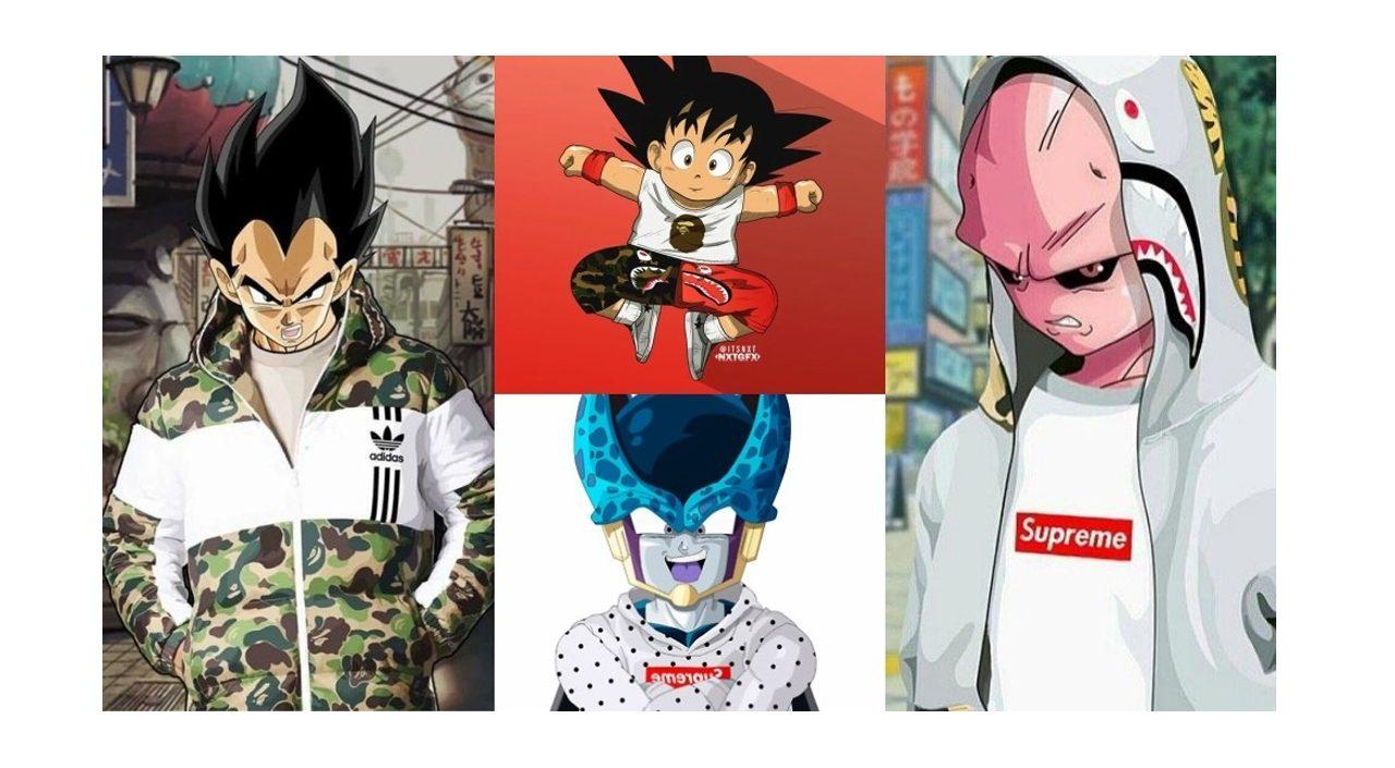 Streetwear anime collab
