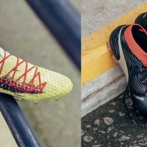 Puma Future Netfit 18.1 and Puma One 18.1 soccer boots