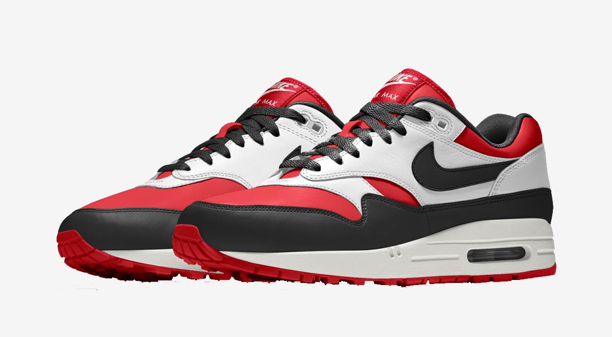 Nike iD Air Max 1 Bred Toe