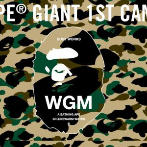 BAPE Giant 1st Camo Collection