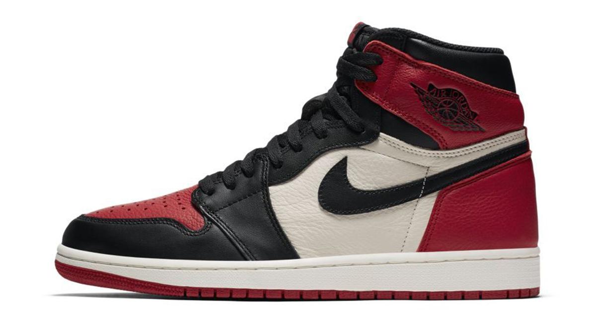 Nike iD Air Jordan 1 Bred Toe