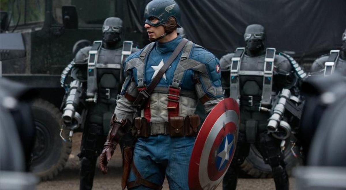 Captain America actor Chris Evans