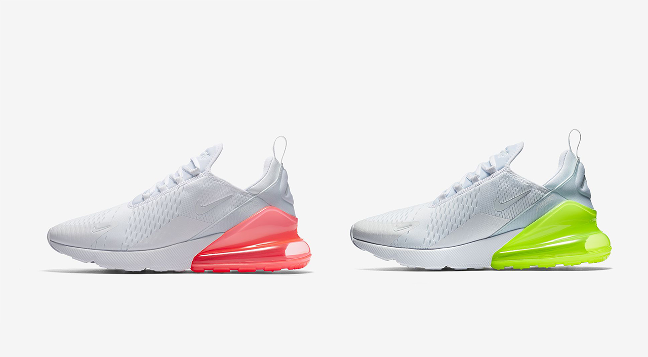 b675667b44 Nike Air Max 270 White Pack Release Details | Straatosphere