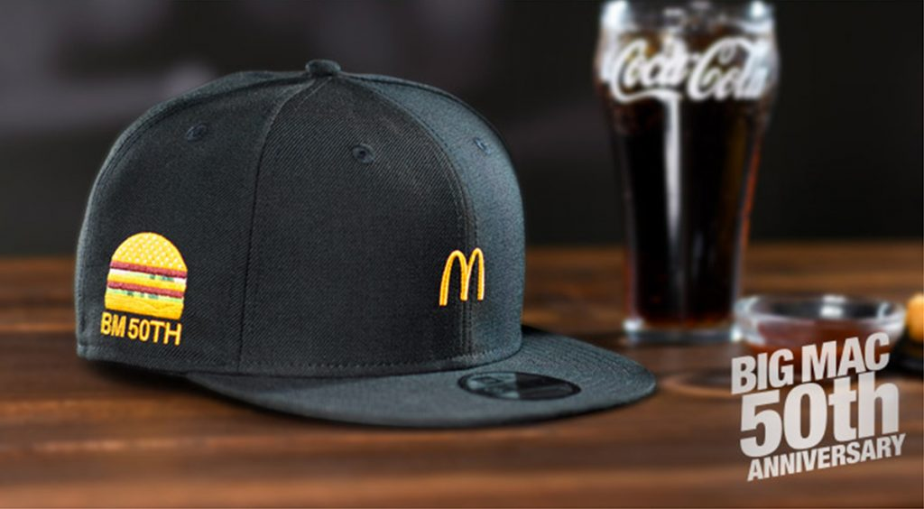 McDonald's Big Mac x G-Shock and New Era Collection | Straatosphere