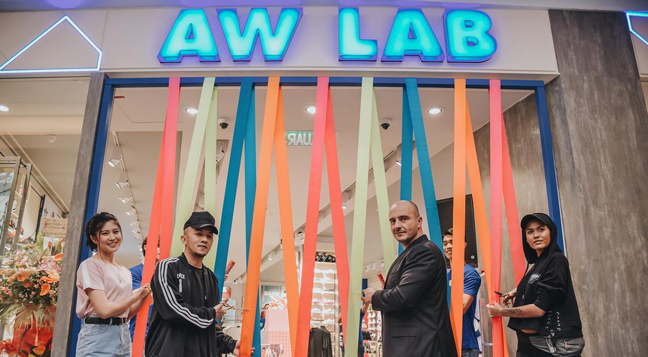 aw lab malaysia opens new flagship store in kuala lumpur