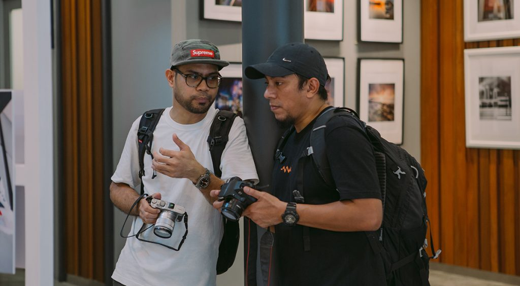 Sneaker photography workshop