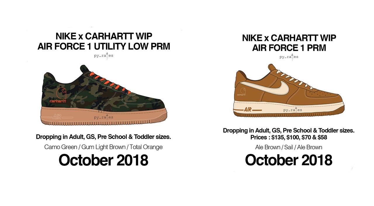 carhartt af1 release date
