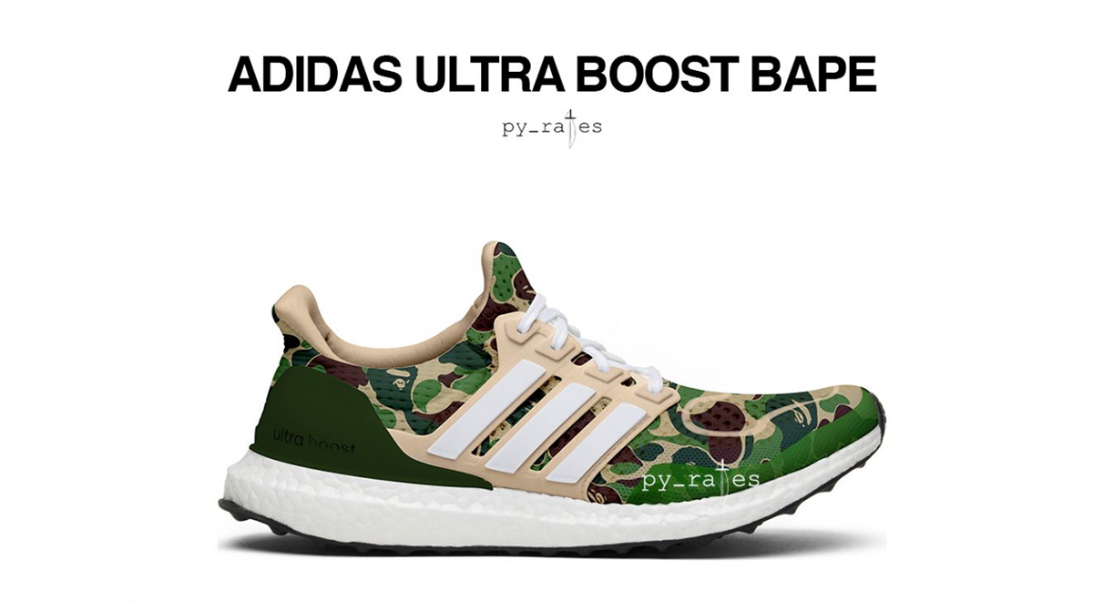 Bape x Adidas Ultraboost to Drop in 2019 | Straatosphere