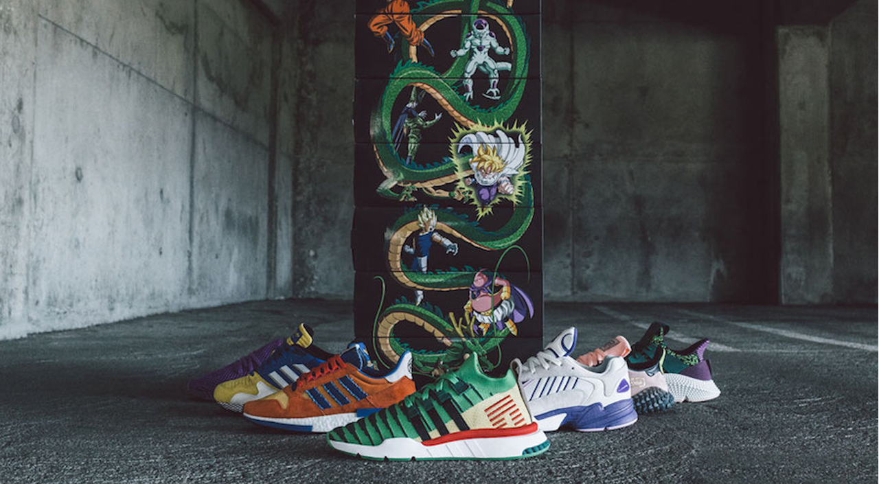 adidas dragon ball z full release