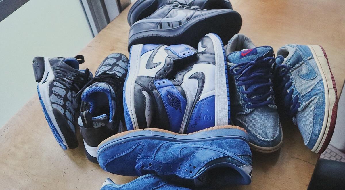 Singapore Sneaker Collector Tim Suen