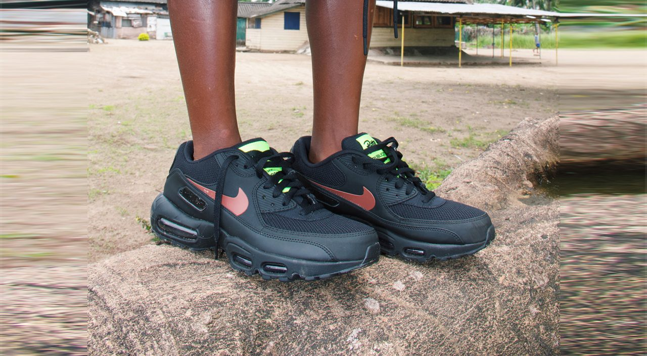 Nike X Patta Air Max 9095 (Black)