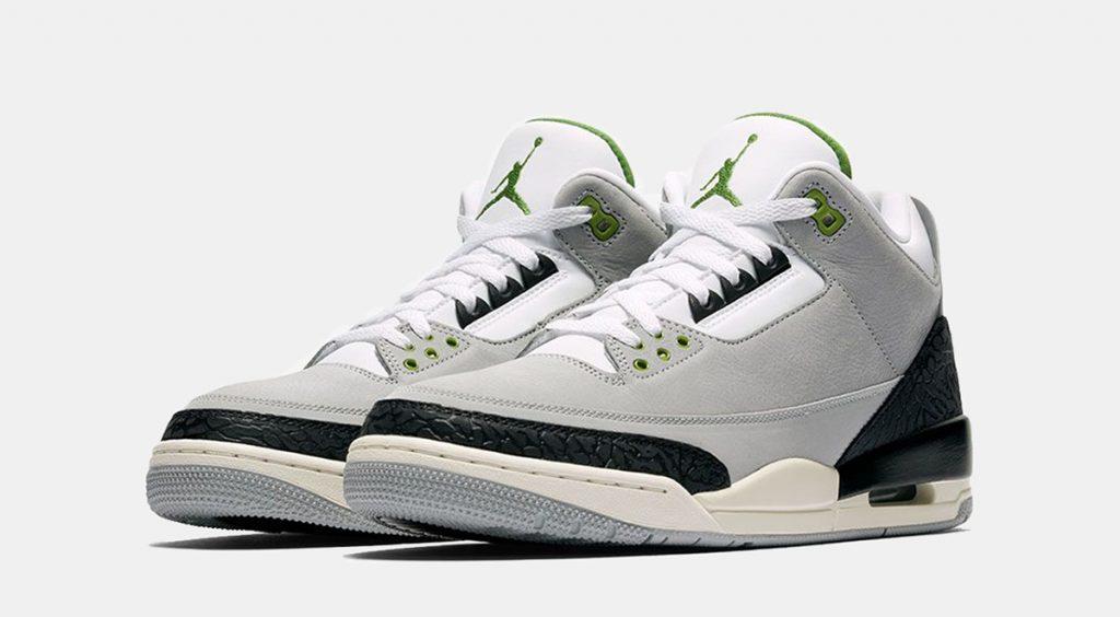 Nike anniversary week Air Jordan 3 Chlorophyll