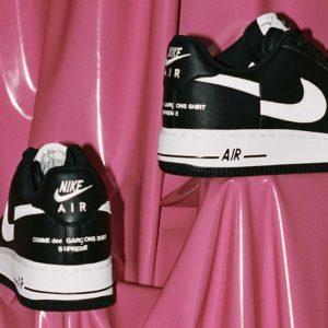 CDG x Supreme x Nike Air Force 1