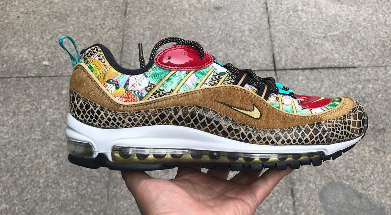 best website c3889 c8037 Nike Air Max 98 CNY Leaks Have Surfaced And They Are Wild