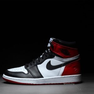 Fragment x Air Jordan 1 Black Toe