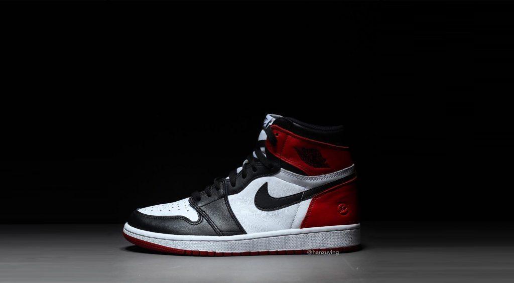Fragment x Air Jordan 1 Black Toe