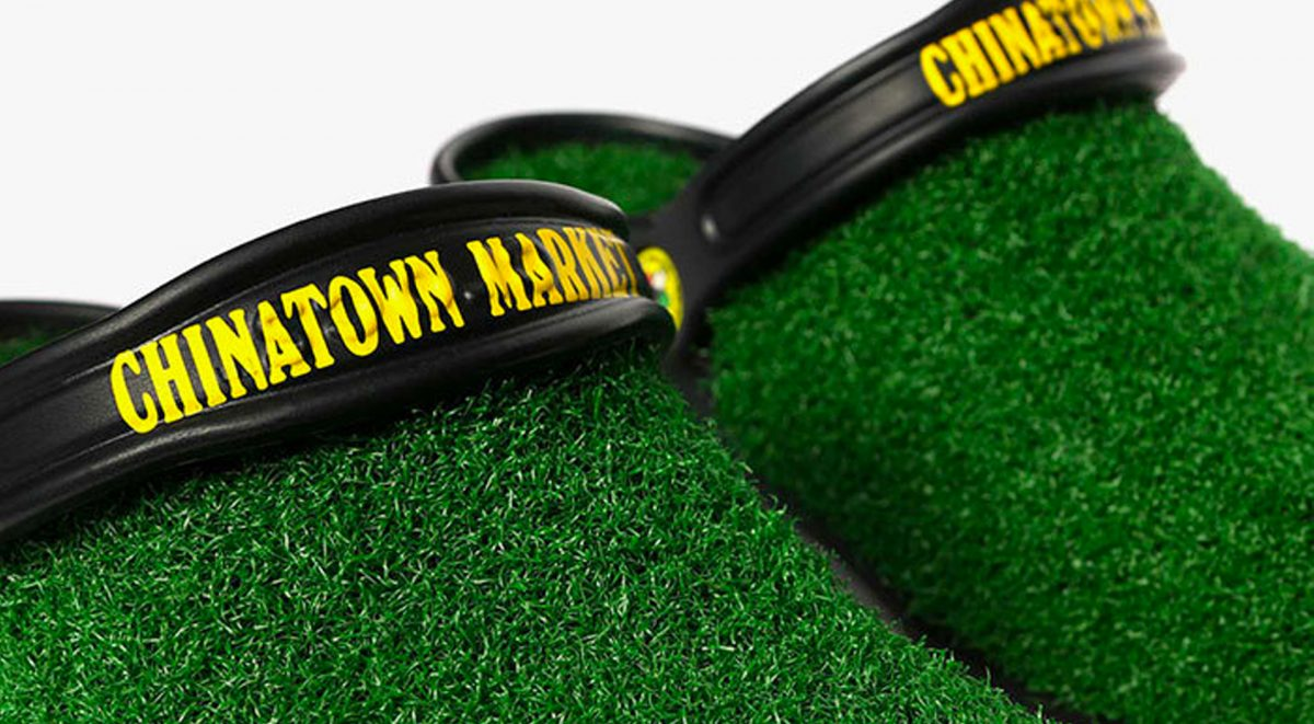 430fcf6e9fa Chinatown Market x Crocs Gives Us Portable Patches Of Grass
