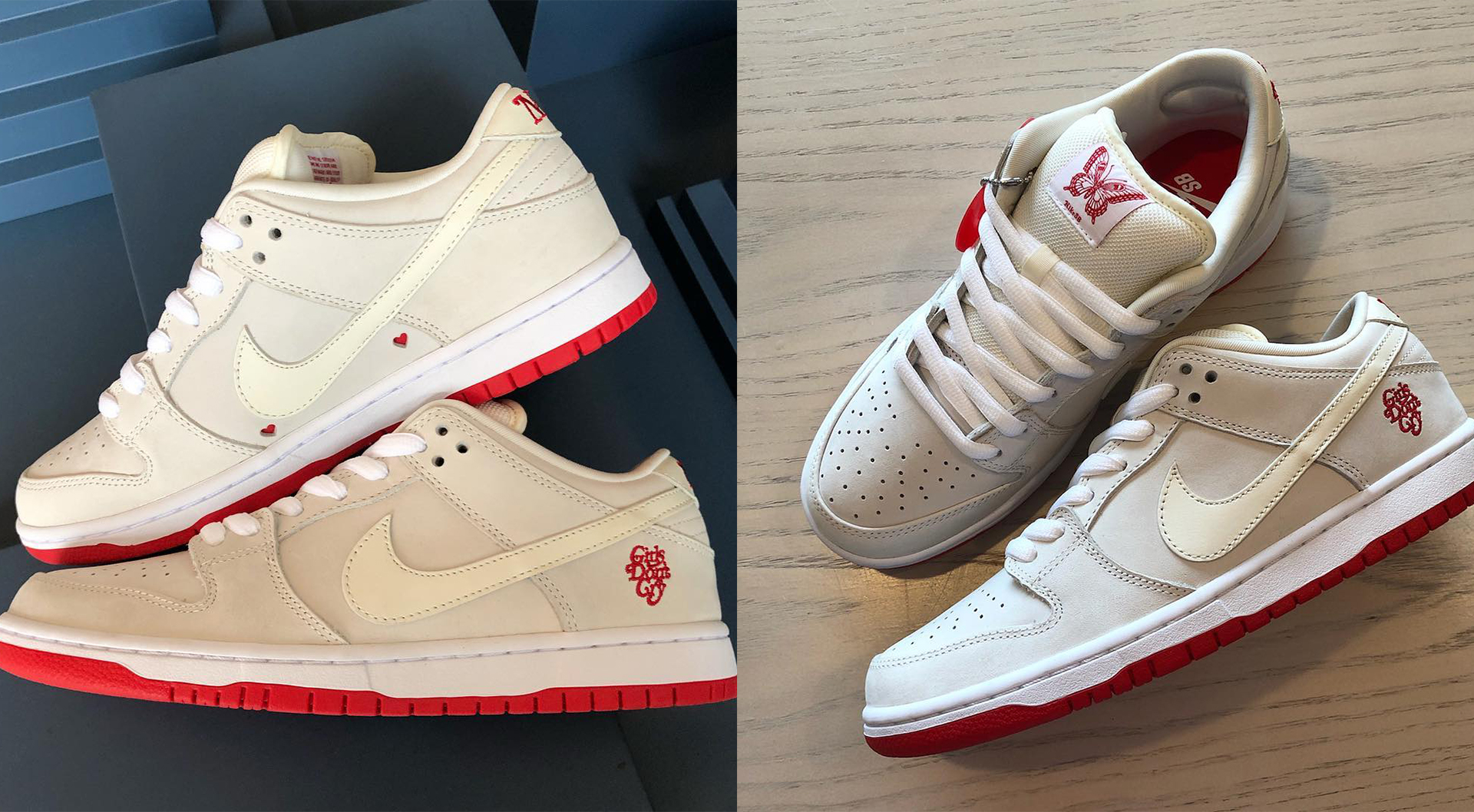 49c91fb1943 The Girls Don t Cry x Nike SB Dunk Low Will Release In 2019