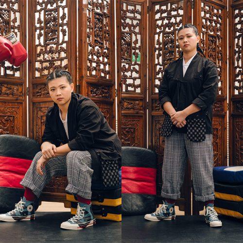 Converse Love the progress qin yunquan