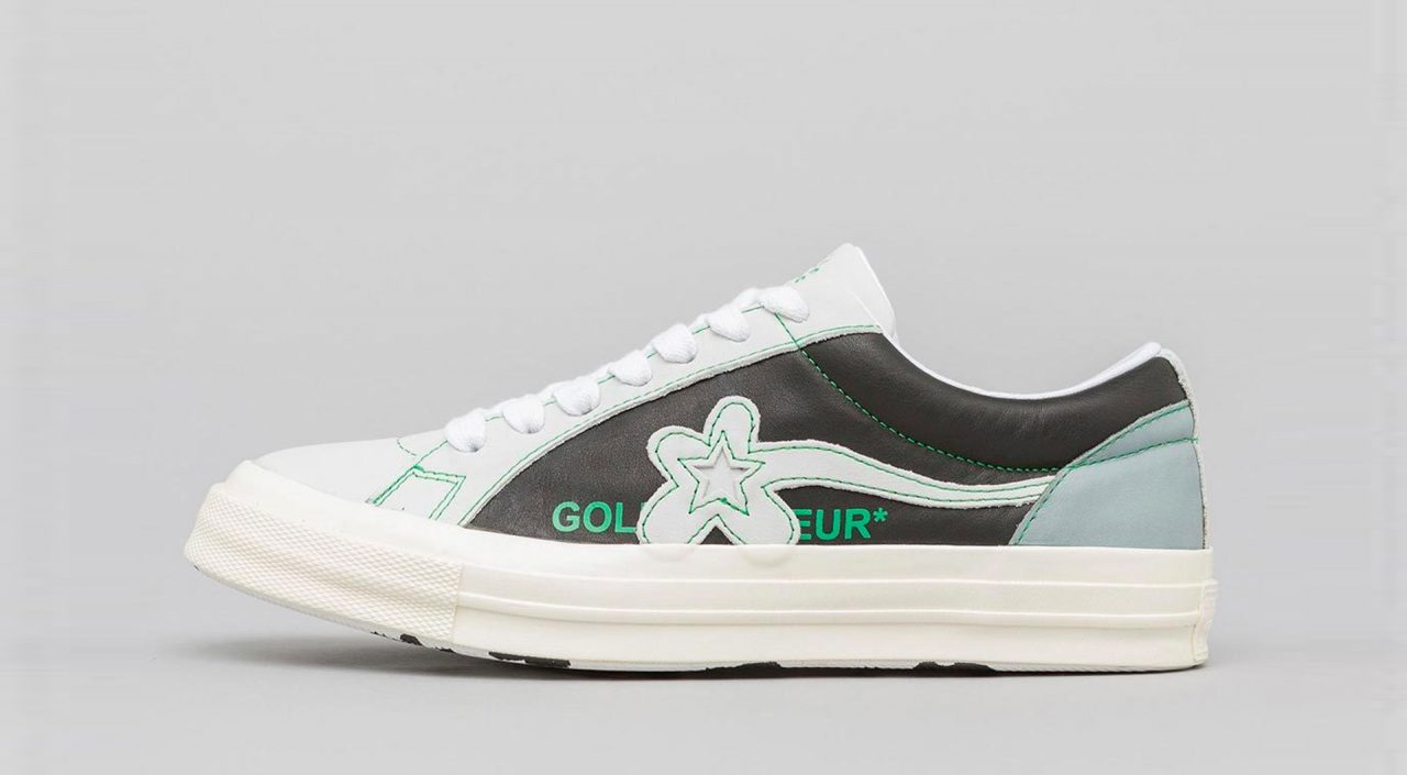 Golf Le Fleur leather two-tone