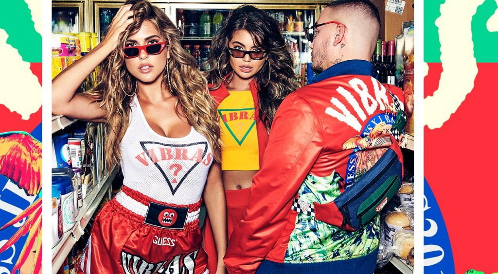 Guess x J Balvin Vibras Capsule Collection