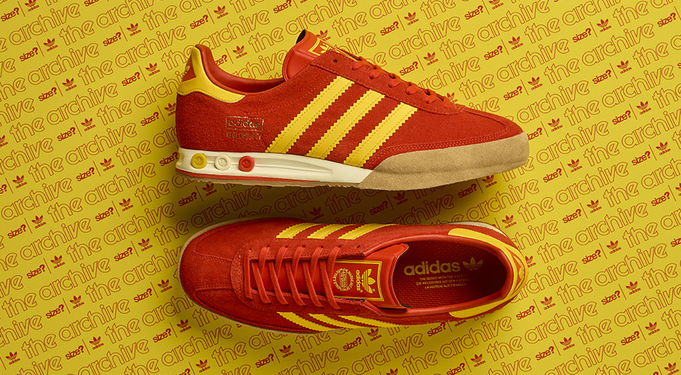 adidas originals archive kegler super red yellow