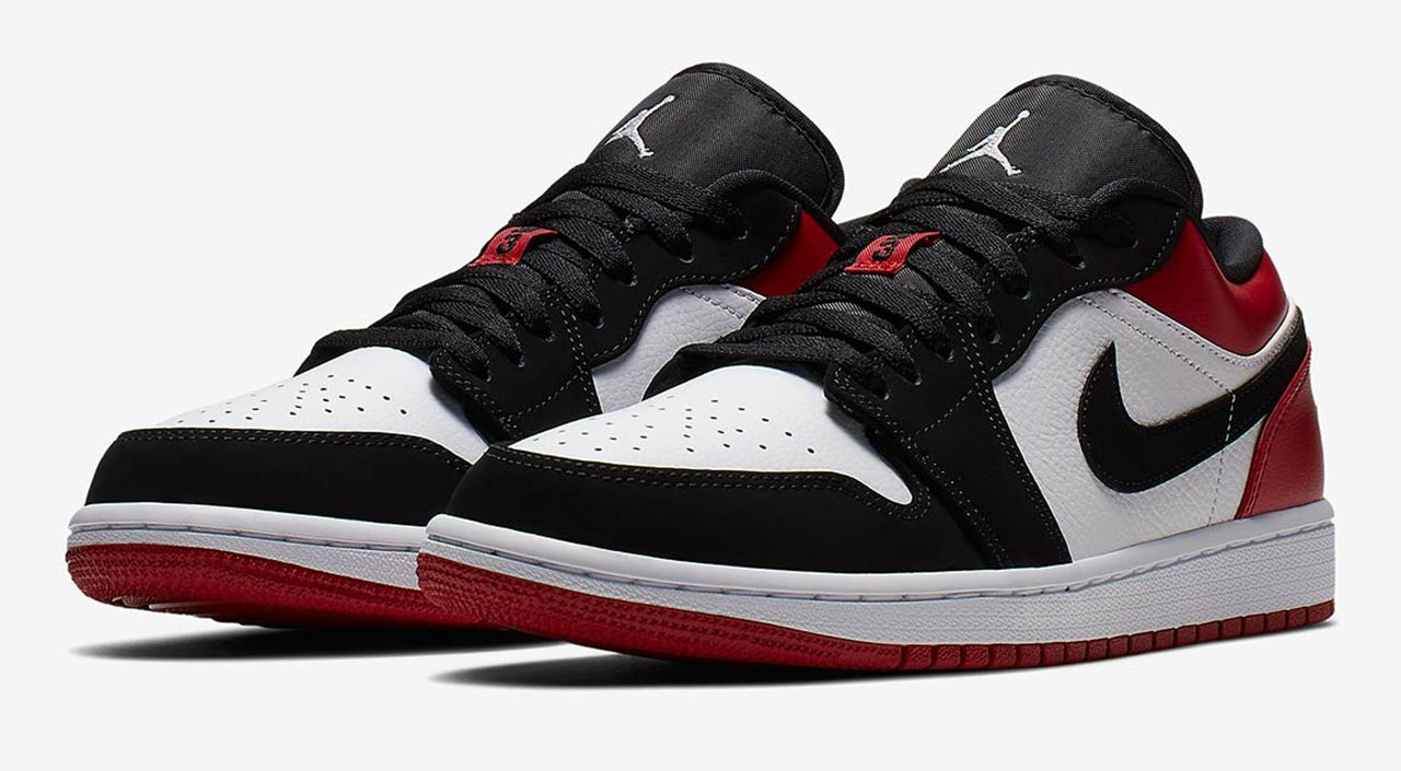 Air Jordan 1 Low Black Toe