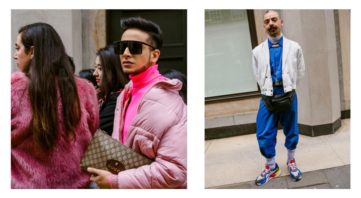 bold colors trend london fashion week 2019