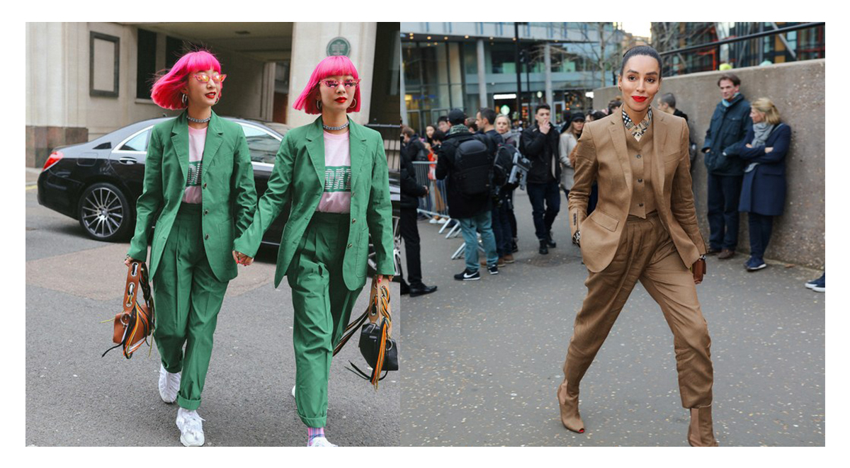 business casual trend london fashion week 2019