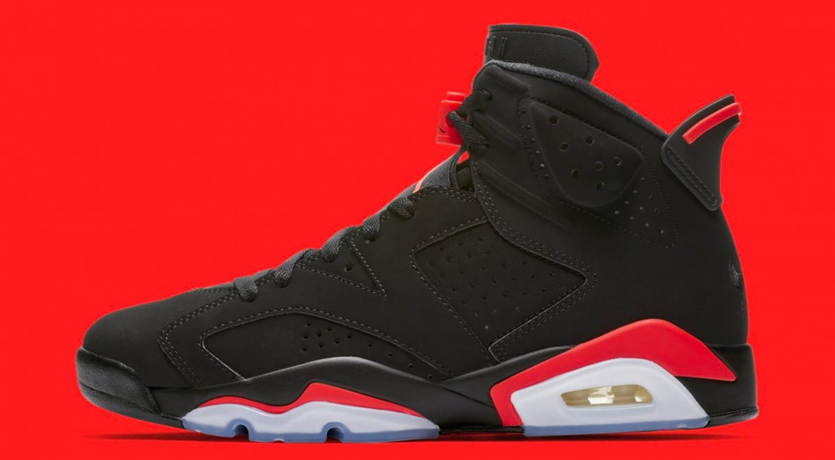 sale retailer a8ccd 1d5d9 The Iconic Air Jordan 6 Infrared Gets A 2019 Release