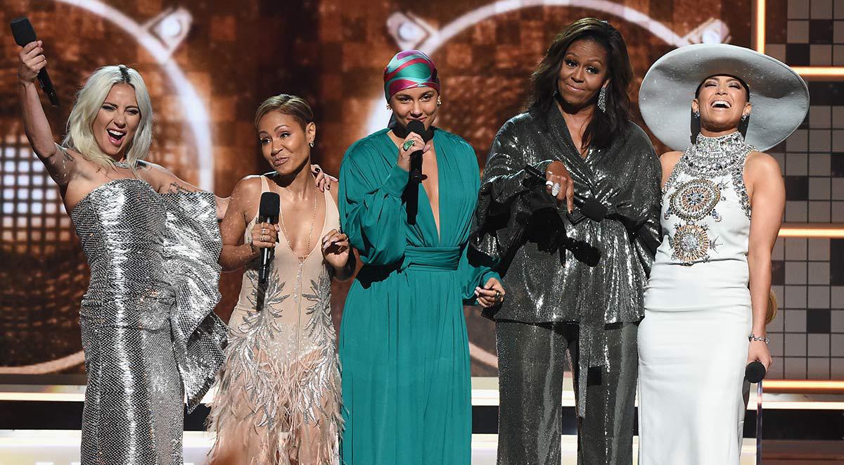 Grammy Awards 2019 alicia keys michelle obama