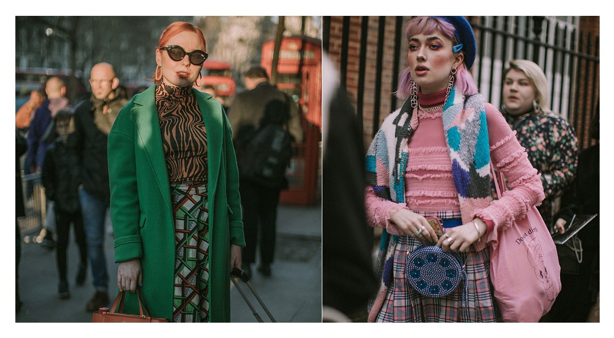 print on print trend london fashion week 2019