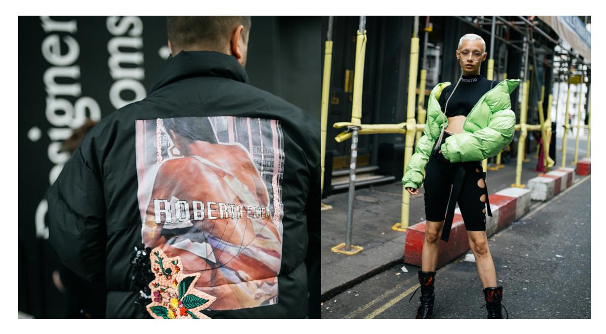 puffer jacket trend london fashion week 2019