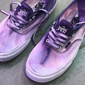 vans x yeti out purple tie-dye