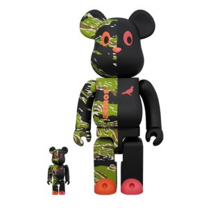 Atmos x Staple Black Pigeon Bearbrick Toy